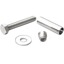 Stainless steel A2-70 outer hex expansion bolts hex bolts