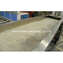 Machine parallèle de pelletisation de flocons d'animal familier de ligne de double d'anneau d'eau de vis