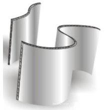 Материалы для отделки изогнутых алюминиевых сотовых панелей
