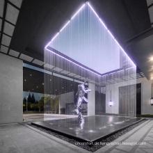 Diy Glasfaser-Lichtvorhang