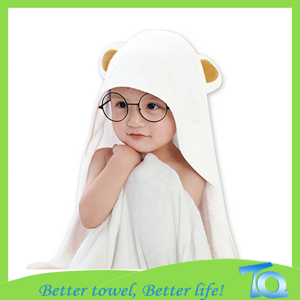 Baby Hooded Thick Bamboo Towel Organic 600gsm