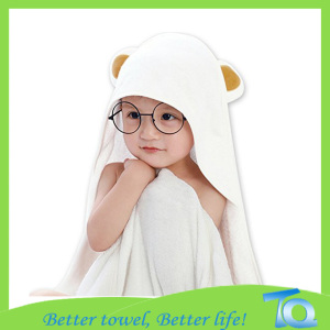 High Quality Infant Hooded Towel Bamboo Organic