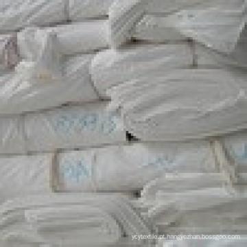 Tecido de algodão poliéster cinza 120 * 52 / TCD30 * TCD30 / largura 172 cm