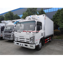 Isuzu refrigerator freezer cargo van truck for sale