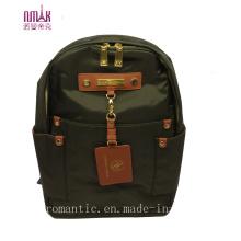 Sacos de mochila de nylon verde do exército (N-1103)