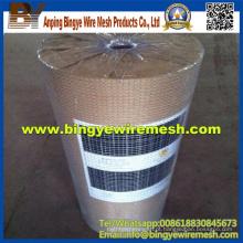 Malha de arame soldada AISI 304 em aço inoxidável para fábrica