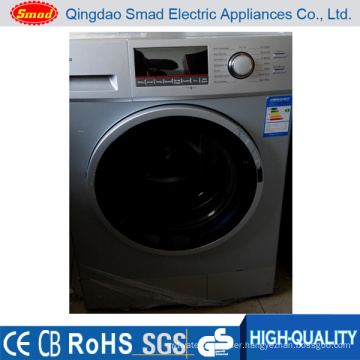 Home use front loading fully automatic washing and drying machine