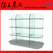 2x1.5m Practical Transparent Shanghai Glass Shoe Display Case