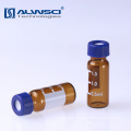 2ml 9-425 glass containersr amber Glass Vials 9mm screw thread vial for Agilent