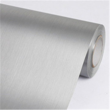 Vasin Supreme Wrapping Vinyl Film Brushed Steel Metallic