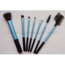 Poignée métallique 7PCS Brosses cosmétiques pour cosmétiques de maquillage
