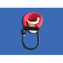 Hospital cervical neck support traction units device