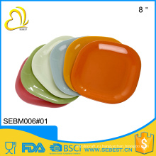 высокое качество лучшие продажи продукты 12-дюймовый пластиковый квадратный Bamboo плита