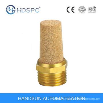 Brass silenciador cobre neumático de buena calidad