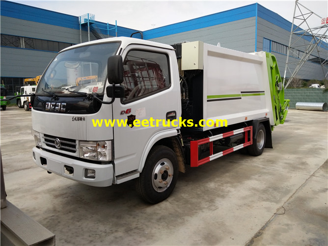 6000l 4x2 Compress Refuse Trucks
