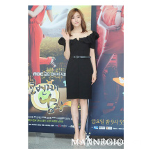 Summer Cool Style Ruffles Casual Dresses for Woman (3-2514)
