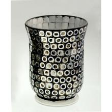 2016new Design Classical Glass Mosaic Candle Holder
