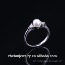 Hot sale wholesale finger rings indian wedding gifts for guests Rhodium plated jewelry is your good pick