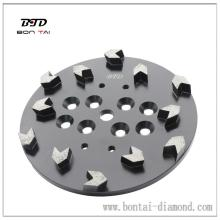 "10"" CONCRETE GRINDING PLATE FOR EDCO FLOOR GRINDER"
