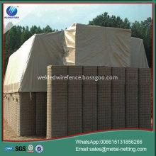 military barrier wall welded flood baston barrier