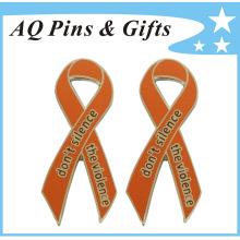 Pin feito sob encomenda da fita da consciência no bom & na qualidade do preço (badge-135)