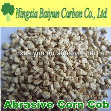 Abrasive Corn Cob grit for polishing