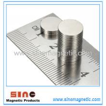 NdFeB Seltener Erde Super starker runder Neodym Magnet N50 10X1mm Großverkauf