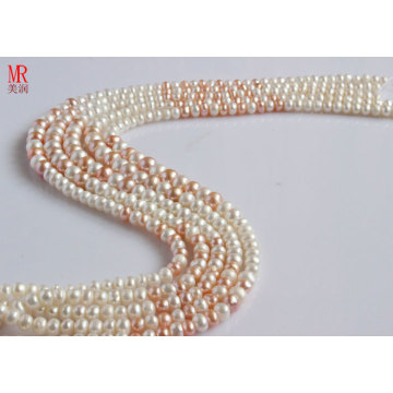 7-8-9mm Mixed Color Freshwater Pearl Necklace (ES147-8)