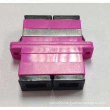 Sc Duplex Om4 Violet Fiber Optic Adapters