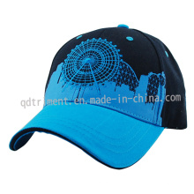 Screen Print Embroidery Cotton Twill Golf Sport Cap (TMB0824)