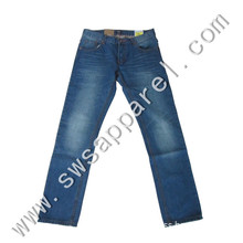 2015 New Style Cheap Straight Slim Fit Stretch Demin Jeans for Man