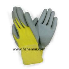 Aramid Fiber Cut Resistant 5 gant de travail revêtu de PU