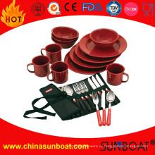Кухня реализации посуды эмалированную посуду набор столовые приборы и кружки