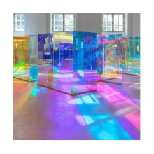 Good quality tempered laminated dichroic glass supplier