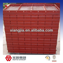 recycling steel formwork material