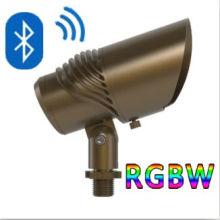 Outdoor Spotlight Waterproof RGBW LED Light Bluetooth Control