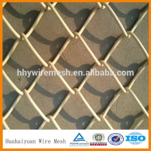 Barbed and knuckle chain link fence