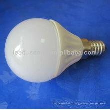 E14 boîtier en céramique G45 ampoule led 5w