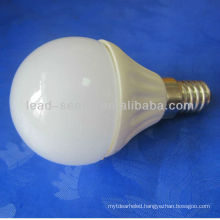 E14 ceramic housing G45 led bulb 5w