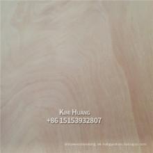 4x8 3.0mm Rotes Okoumensperrholz für den Philippinenmarkt