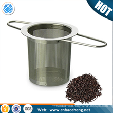 stainless steel basket strainer tea filter infuser