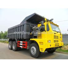 China HOWO Camião basculante de tonelagem de tonelada de 6 toneladas