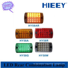 LED multicolor tail lamp truck high quality led rear light for trailers