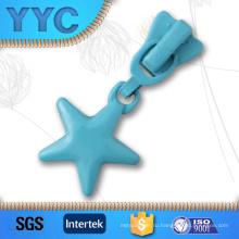 Выдвижная застежка-молния высокого качества персонализированная мягкая PVC симпатичная вытягивает для малышей
