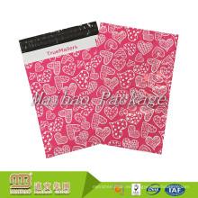 Bolsas de plástico autoadhesivas coloreadas del embalaje del comercio electrónico de la impresión del diseño de encargo impermeable amistoso de Eco para la ropa