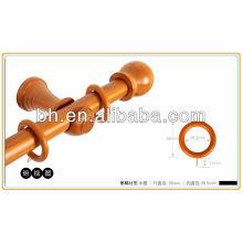 Окрашенные деревянные эбеновые кольца для карниза