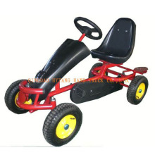 Pedal Go Kart with pneumatic rubber wheel