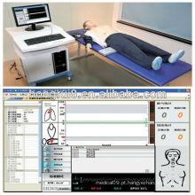 Manequim de CPR avançado ISO com AED e Trauma Care Training