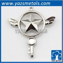 Custom 3D figura emblema artesanato de metal