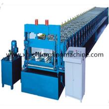 Máquina formadora de rollos en frío para pisos